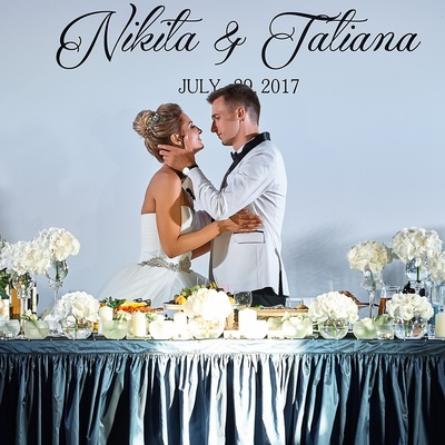 Wedding Nikita & Tanya